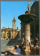 °°° Cartolina - Ascoli Piazza Dell'arengo Viaggiata °°° - Ascoli Piceno