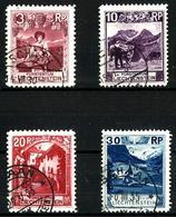 Liechtenstein Nº 94-96-97-99 Usados. Cat.14,50€ - Liechtenstein