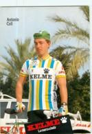 Antonio COLL . 2 Scans. Kelme 1988 - Radsport