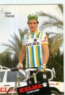 Jaime VILAMAJO . 2 Scans. Kelme 1988 - Radsport