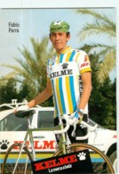 Fabio PARRA . 2 Scans. Kelme 1988 - Radsport