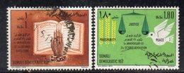 XP3100 - SOMALIA 1970 ,  Yvert N. 126+127 Usato  (2380A) - Somalia (1960-...)
