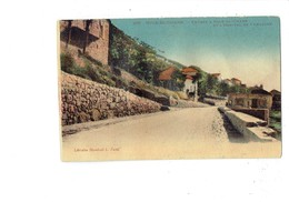 Cpa - Asie - Liban - Souk El Gharb - Entrée Et Hôpital De Campagne - Librairie Stamboul 225 - Lebanon