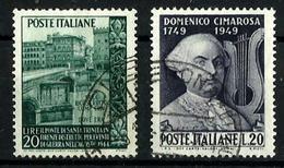 Italia Nº 551-553 Usado. Cat.8,50€ - 6. 1946-.. Republic