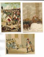 RARE Et BELLE Série De  11 Chromos-images à Caractère Historique Sous Forme De Récompense. Toutes Scannées - Storia