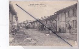 Beaulieu (55) La Grande Rue - Grande Guerre 1914-15) (animation) - Non Classés