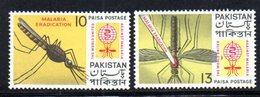APR1777 - PAKISTAN 1962 , Serie Yvert N. 159/160  ***  MNH  (2380A) Malaria - Pakistan