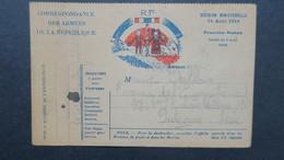 Carte Franchise Militaire Janvier 1915 écrite D'une Tranchée Pour Puteaux Voir Scans - Marcophilie (Lettres)