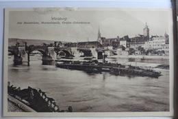 AK Würzburg Alte Mainbrücke, Marienkapelle, Graf-Eckardsturm Ungebraucht #PG478 - Deutschland