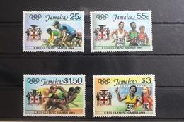 Jamaika 585-588 ** Postfrisch Olympische Spiele #RN092 - Jamaica (1962-...)