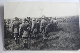AK Deutschland Gruppe Soldaten Feldpost 1917 Gebraucht #PG607 - Deutschland