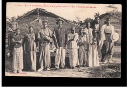 Congo Français Y A Mieux, Mais C'est Plus Cher- En Toilette De Danse Ca 1910 Old Postcard - Congo Francés - Otros
