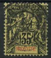 Mayotte (1892) N 18 (o) - Oblitérés