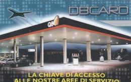 SCHEDE TESSERE SERVIZIO CARBURANTI Q8 DBCARD  NON ATTIVA - Unclassified