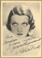 Alice Field (1903-1969) - Actrice Française - Photo Dédicacée (années 30) - Autographes