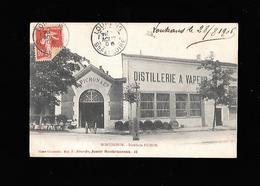 C.P.A. DE LA DISTILLERIE PICHON A MONTBRISON 42 - Montbrison