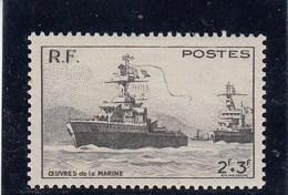 France - 1946 - N° YT 752** - Pour Les Oeuvres De La Marine - Francia