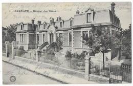 Carmaux Hopital Des Mines Cachet Prisonniers De Guerre 1916 - Carmaux