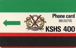 KENYA - K.P.T.C. LOGO 400 UNITS - Kenia