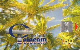 CAPO VERDE - THEMATIC PALMS - Kaapverdische Eilanden