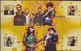 2002, Irland, 1464/71 Block 42/45, Rock-Legenden. MNH **, - Blocs-feuillets
