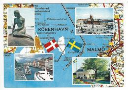 DANEMARK.- KÖBENHAVN - MALMO - Danemark
