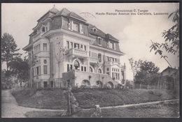 CPA  Suisse, LAUSANNE, Pensionnaz C. Taeger, Haute-Rampe Avenue Des Cerisiers, 1910 - VD Vaud