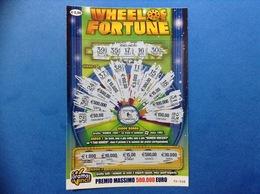 BIGLIETTO GRATTA E VINCI WHEEL OF FORTUNE € 5,00 - Biglietti Della Lotteria