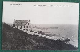 CPA 29 LOCQUIREC - Le Palud, Et L'Ile Verte à Marée Haute - N° 805 - Réf. A 287 - Locquirec