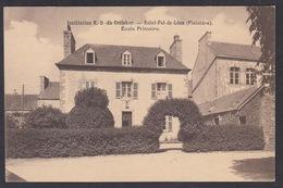 CPA 29 - SAINT POL DE LEON, Institution De Notre-Dame Du Creisker, Ecole Primaire - Saint-Pol-de-Léon
