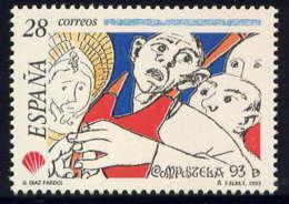 ESPAGNE - 2849** - ANNEE SAINTE DE St JACQUES DE COMPOSTELLE - 1931-Hoy: 2ª República - ... Juan Carlos I
