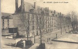 CPA Sedan Quartier Du 28e Dragons - Sedan