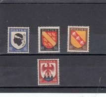 France - 1946 - N° YT 755/58** - Armoiries De Provinces - Nuovi