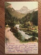 CPA, SUISSE, Route Des Plans, Le Grand Muveran, éd Comptoir Phototypie Neuchâtel,écrite En 1902, Cachet Hotel De Crochet - VD Vaud