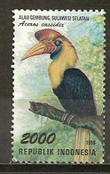 Indonesie Indonesia 1998 Oiseau Toucan Bird Obl - Indonesia