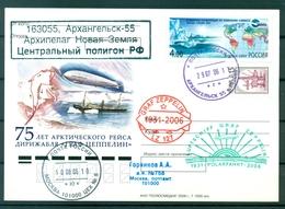 Russie 2006 - Carte Postale Graf Zeppelin - Arkhangelsk - Voli Polari