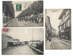 42 - LOIRE - Lot De 14 CPA - Feurs, St Etienne, Charlieu.... - Francia