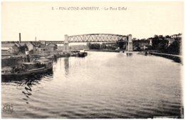 78 FIN-d'OISE-ANDRESY - Le Pont Eiffel - Andresy