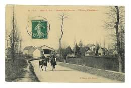 CPA 03 MOULINS ROUTE DE DECIZE L'ETANG CHAVEAU PAQUET N°121 - Moulins