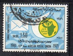 XP3124 - SOMALIA 1972 ,  Yvert N. 145  Usato  (2380A)  Upu - Somalia (1960-...)