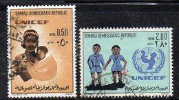 XP3134 - SOMALIA 1972 ,  Yvert N. 146/147  Usato  (2380A)  Unicef - Somalia (1960-...)