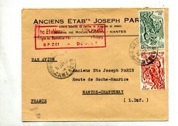 Lettre Cachet ? Sur Cavalier - Cameroun (1915-1959)