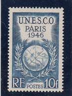 France - 1946 - N° YT 771** - Conférence Générale De L'UNESCO, à Paris - Francia
