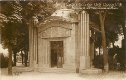 PARIS EXPOSITION DES ARTS DECORATIFS PAVILLON DE LA CIE ASTURIENNE DES MINES ARCHITECTE TRONCHET - Expositions