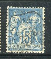 Superbe N° 101 - Cachet Temporaire De Fontaillac ( 1899 ) - 1876-1898 Sage (Tipo II)