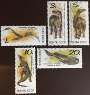 Russia 1990 Prehistoric Animals Birds MNH - Prehistorics