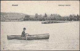Gőzhajó Kikötő, Almádi, C.1910s - Magyar Fénynyomdai Részv Levelezőlap - Hungary