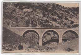 CPA 04 : 1765 - Vallée De L'Ubaye - FOURS - Le Pont Du Garret - Ed. V.Fournier à Gap - - France