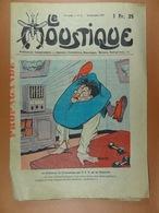 Le Moustique 1938 N°51 Le Professeur De Gymnastique Par T.S.F. Est Un Humoriste - Bücher, Zeitschriften, Comics