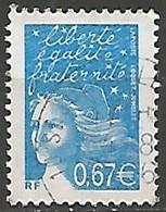 FRANCE N° 3453 OBLITERE - 1997-04 Marianne Du 14 Juillet